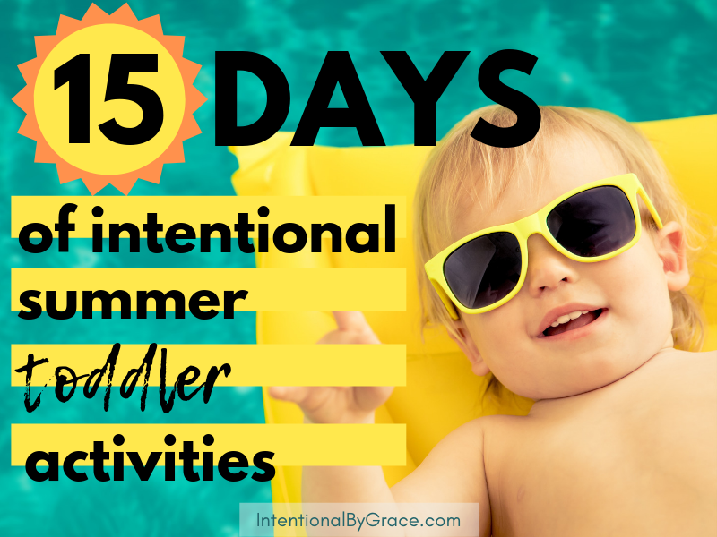 15 days of intentional toddler summer activities. Day 1 is 8 popsicle reciepes you can make and eat with your toddler this summer!