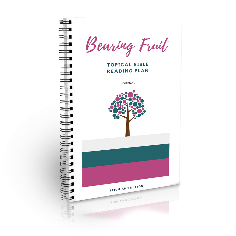 Free Bible Reading Plan on Bearing Fruit for Spring. You Were Made to Give Life. | IntentionalByGrace.com