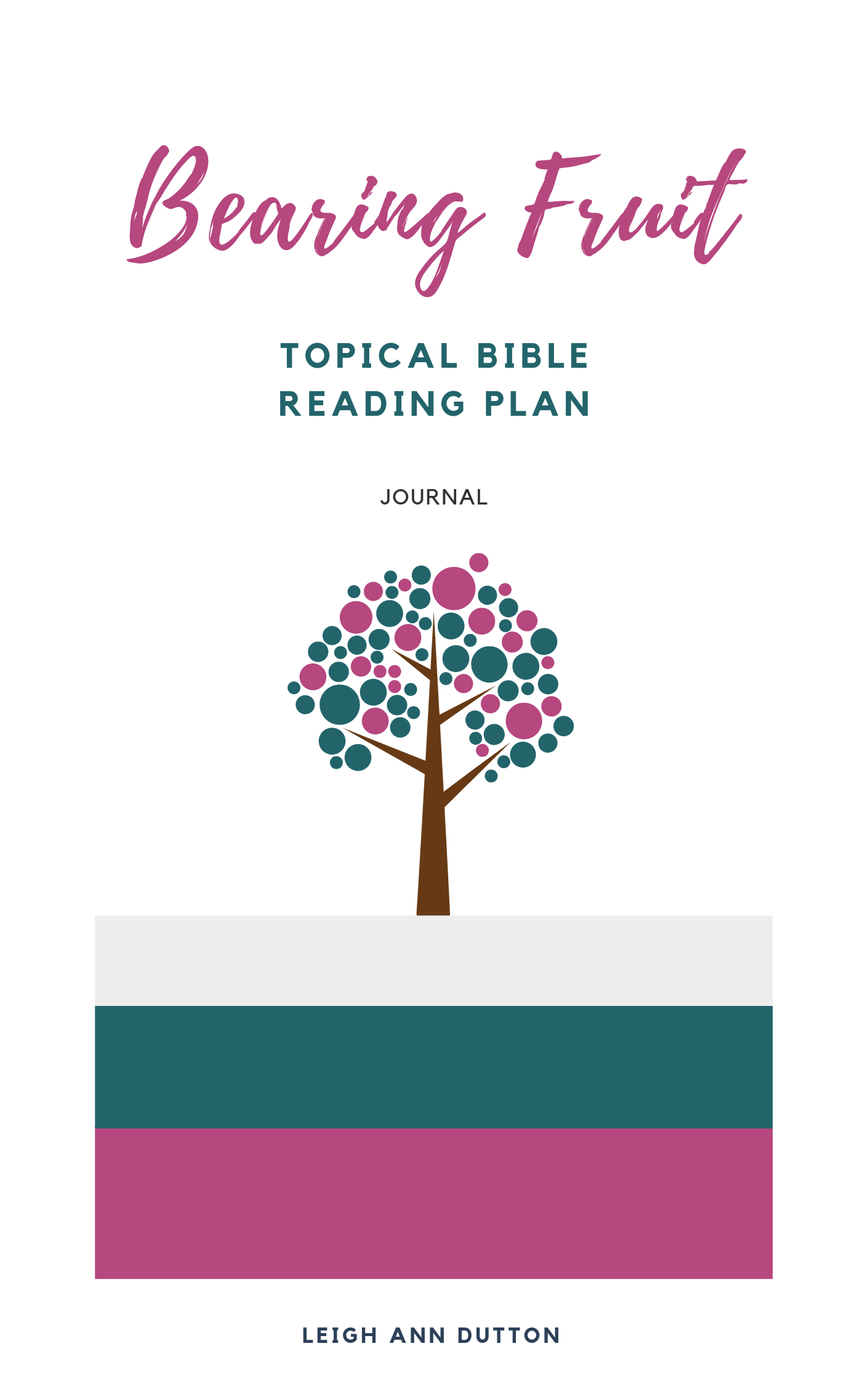 Free Bible Reading Plan on Bearing Fruit. You were made to give life. | IntentionalByGrace.com