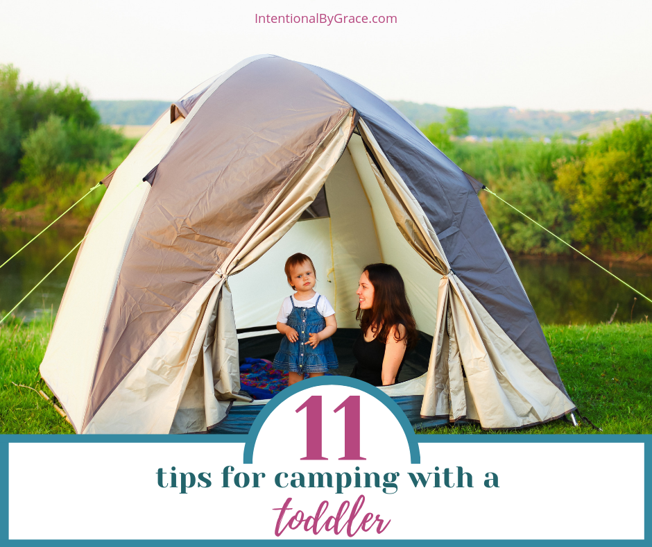 Go camping as a family with your toddler. Here are tips to make camping with toddlers fun and memorable.