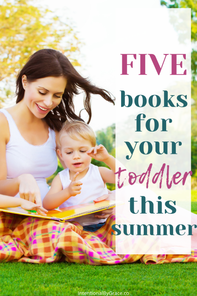5 of the best books to read with your toddler this summer! So many ideas for summer activities with your toddler on this site!