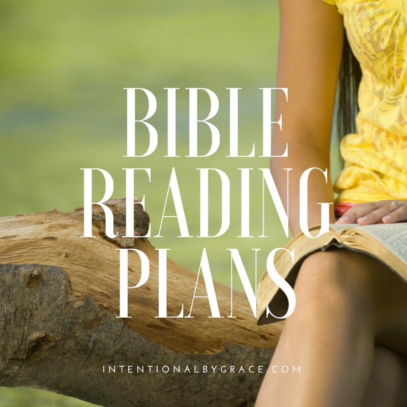 Where to Start Reading Your Bible - Intentional By Grace