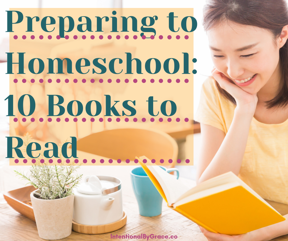 How to prepare yourself to homeschool. Books to read to prepare to homeschool