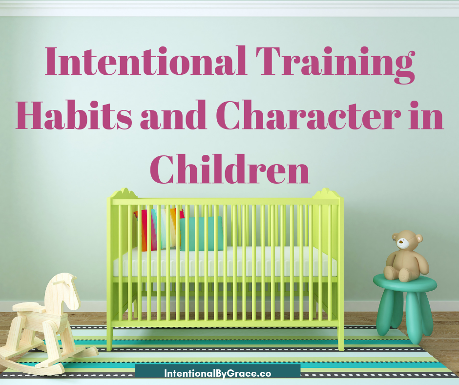 How to build good habits in children, with encouragement from Charlotte Mason's list of good habits.