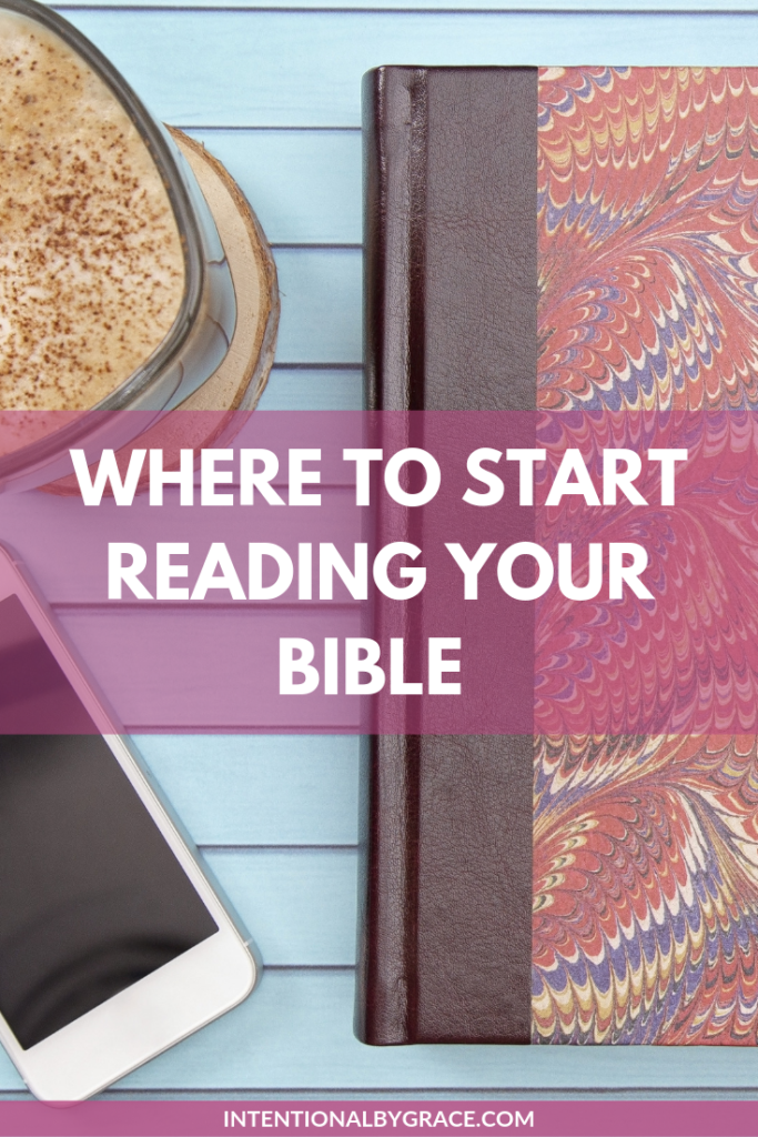 Just getting started reading your Bible? Here's where you can get started!
