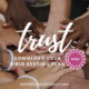 There are times in life when we cannot know what will happen, but we can trust the One who is over all things. Download this FREE trust Bible reading plan. | IntentionalByGrace.com