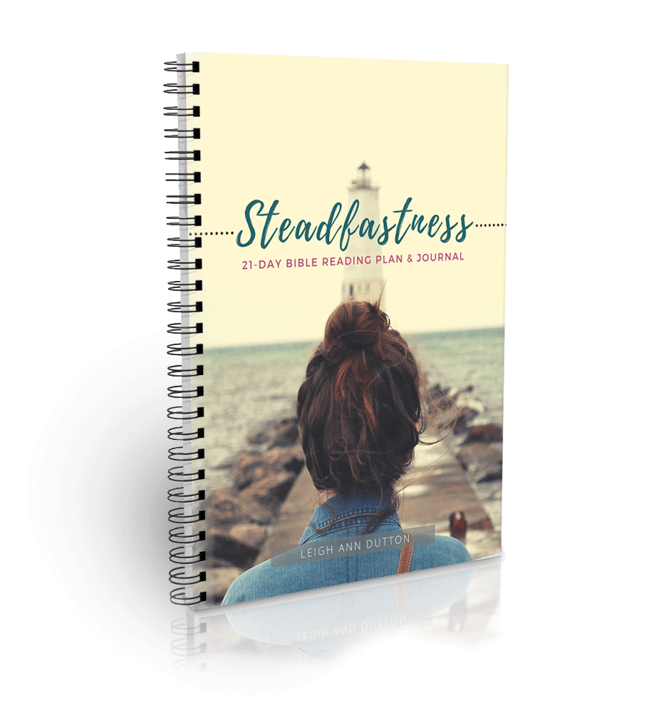 Steadfastness Bible Reading Plan and Journal