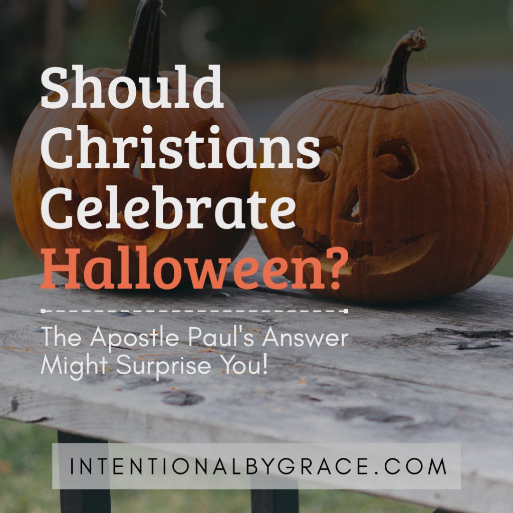 Should Christians celebrate Halloween? The Apostle Paul's answer might surprise you!