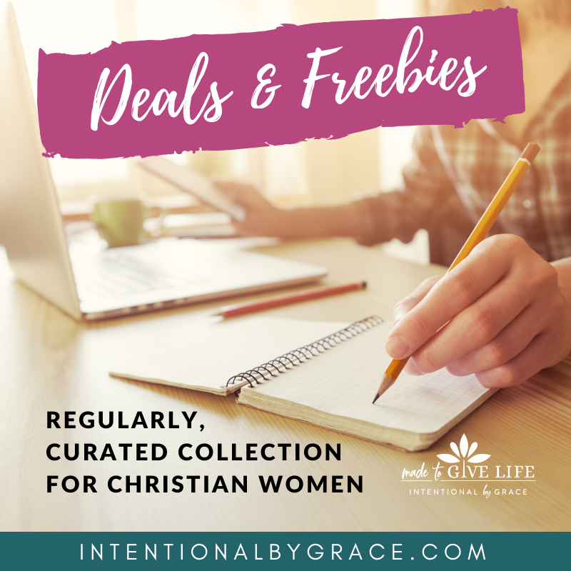 Weekly Deals and Freebies for Christian Women