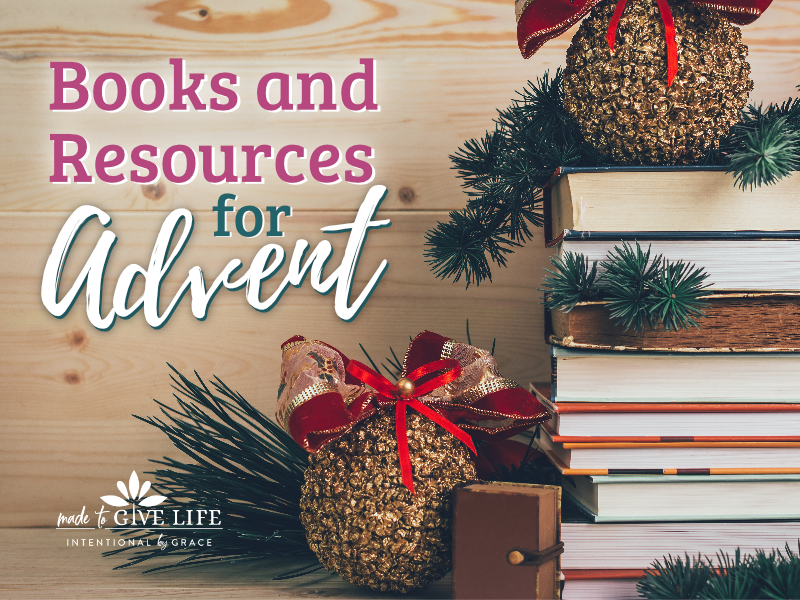 How do you celebrate advent with your family? We've got a list of the best resources for advent, including advent books, devotionals, calendars, and more! | IntentionalByGrace.com