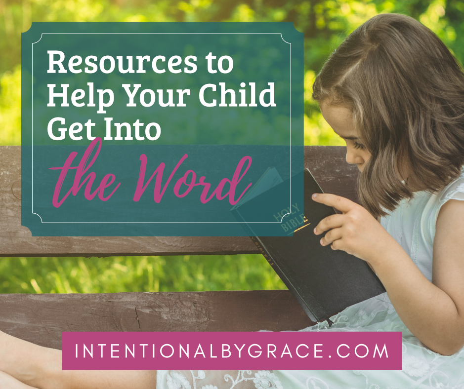 What are the best Bible study books for kids? Help your preschooler, kindergartner, or kids ages 8-12 read the Bible! | IntentionalByGrace.com
