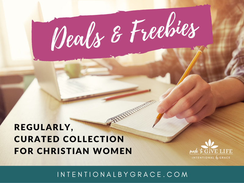 Deals and Freebies for Christian Women