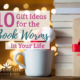 Need Christmas gift ideas for the book worms on your list? We've got you covered with some meaningful, life-giving gifts for your favorite book-lovers! | IntentionalByGrace.com