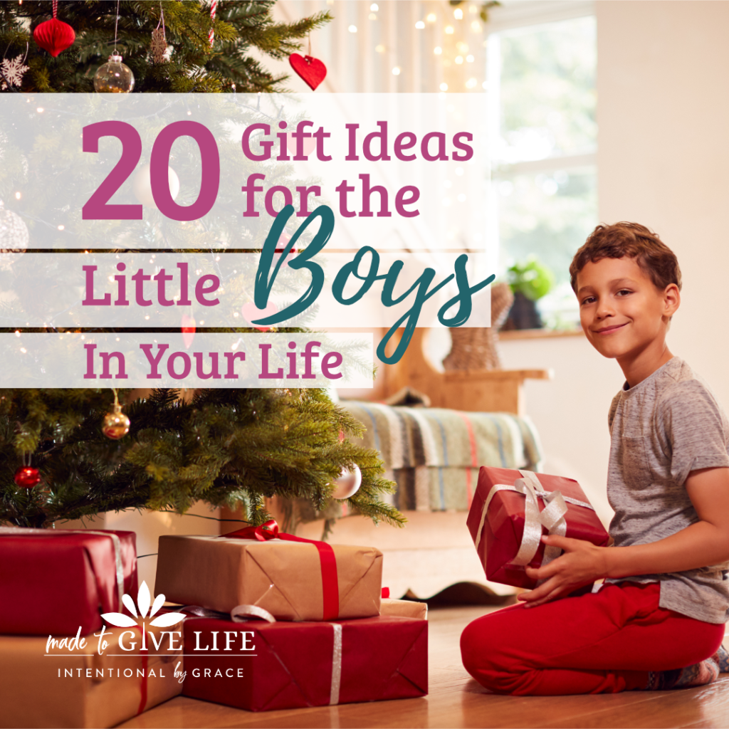 Christmas Gift Ideas for Little Boys- learning toys and toys that don't make noise