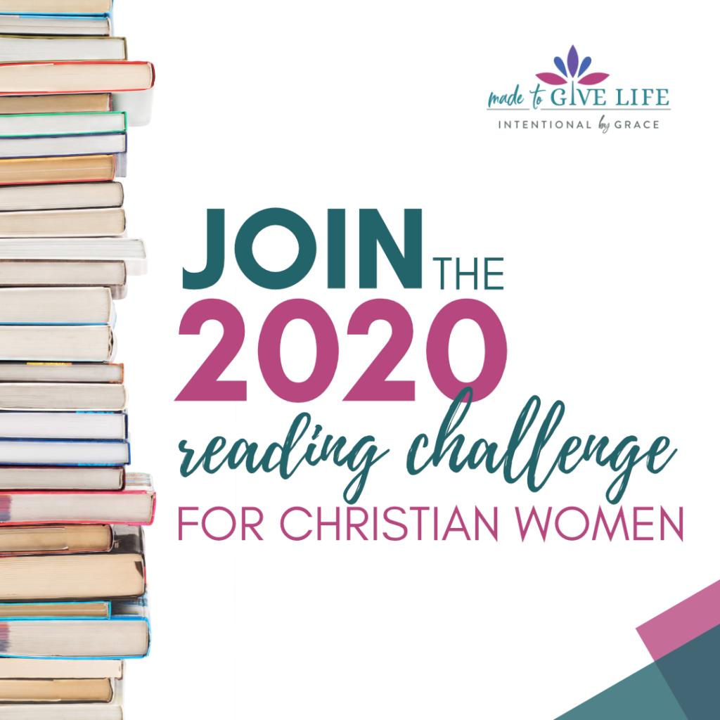 the 2020 Reading Challenge for Christian Women | IntentionalByGrace.com