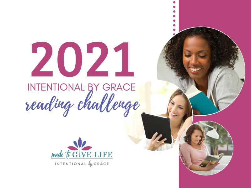 2021 Intentional By Grace Reading Challenge